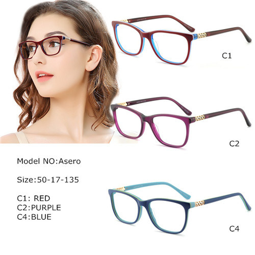 Best Eyeglass Frames 2019 China 2019 Best Selling Women Acetate Eyeglasses Frame Eyewear