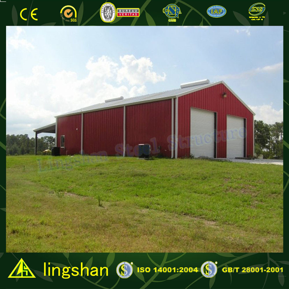High Quality Light Steel Prefabricated Warehouse with CE Certification (L-S-011) pictures & photos
