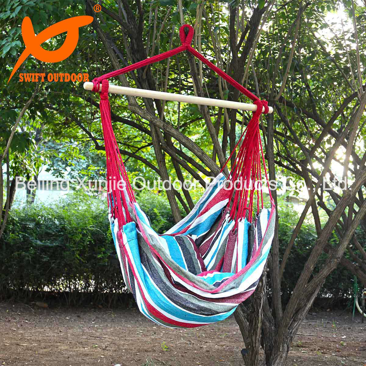 Hot Item Hammock Hanging Rope Chair Indoor Outdoor Beach Swing Yard Patio Cotton