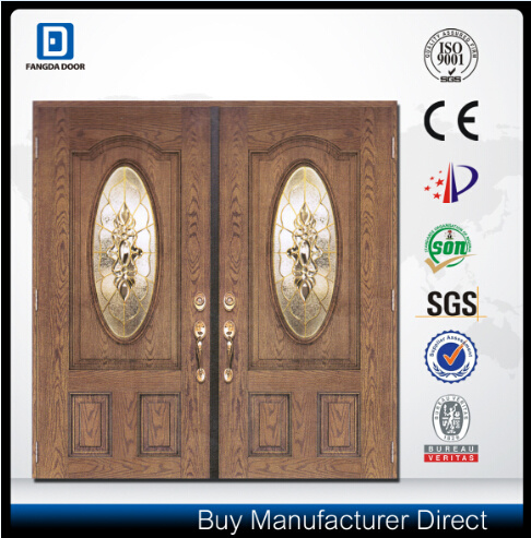 Fangda Korean Style Double Fiberglass Door