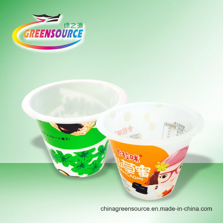 Greensource, in-Mould Labeling for Ice Cream Box