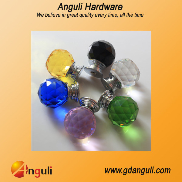Home Decoration Furniture Hardware of Glass Crystal Knob