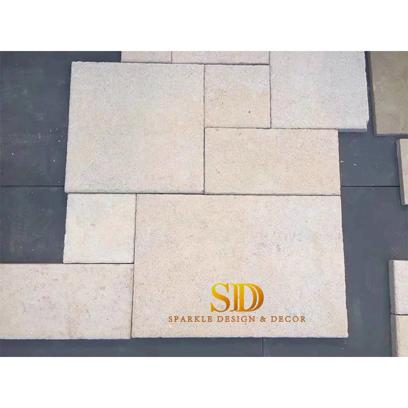 Beige Limestone Paving Stone