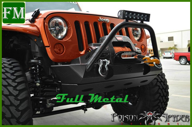 Poison Spyder Brawler Lite Front Skid Plate Suited for Jeep Jk 2007+ pictures & photos