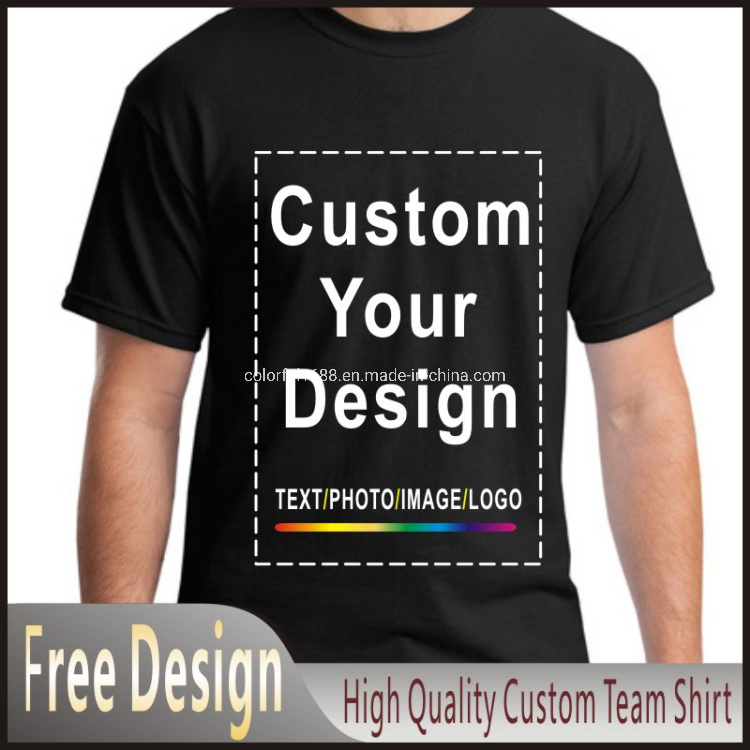 Cotton Men Tshirt Tee Shirt Printing