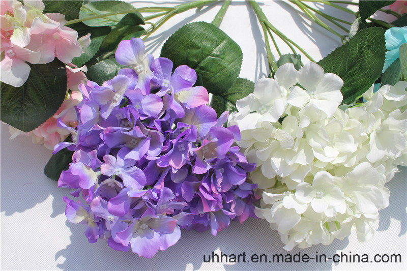 2017 Hot Selling Fake Hydrangea Flower Wholesale Artificial Flowers