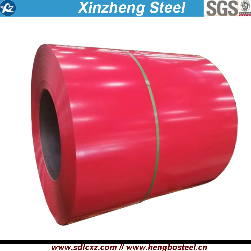 5+10/5~7um, 5+15um 0.14-0.40mm Prepainted Steel Coil for Roofing Sheet