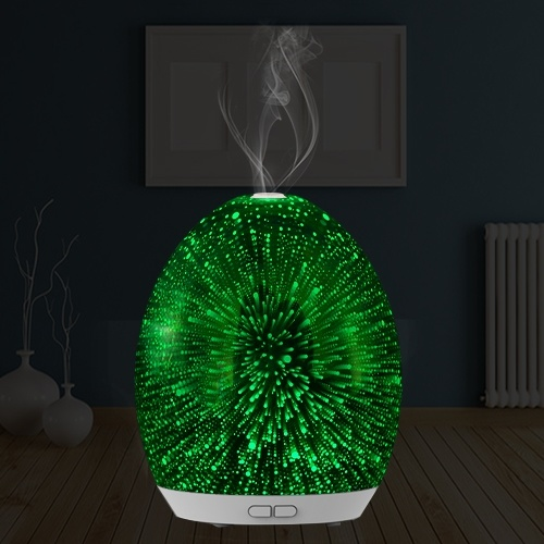 Huaipu Aroma Diffuser with 3D Effect and LED Light (GL-1013-A-037)