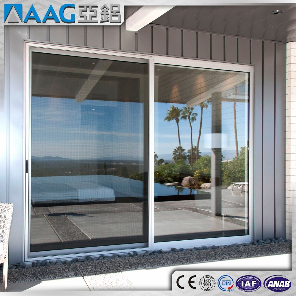 China High Quality Modern Aluminum Automatic Sliding Glass Door For