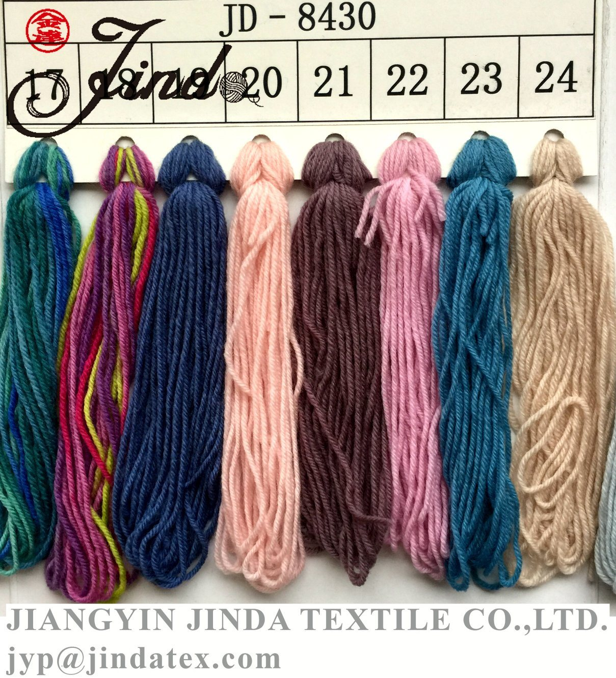 Handknitting Yarn Merino Wool Jd8430
