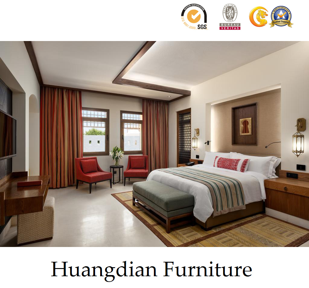 China wholesale 4 star modern hospitality bedroom set wooden hotel furniture hd424 china for Hospitality bedroom furniture