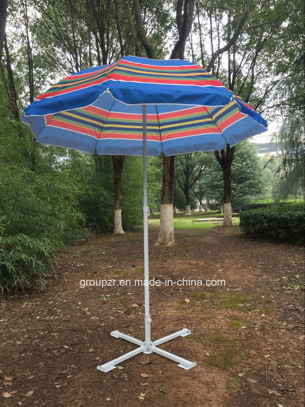 Outdoor Metal Leasure Beach Umbrella pictures & photos