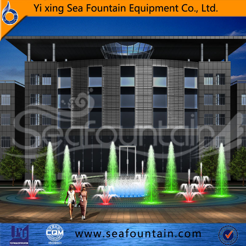 Stainless Net Multimedia Music Dry Floor Fountain pictures & photos
