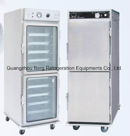 Hot Food Holding Cabinet With Glass Door