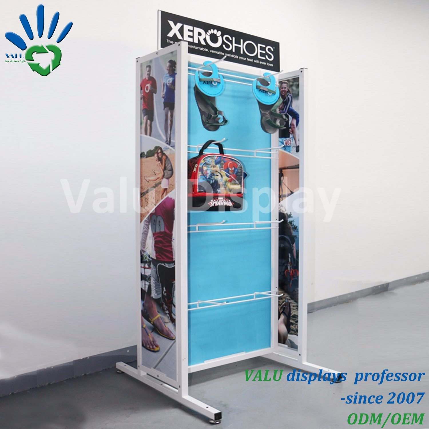 Exhibition Stand Shoes : V a presents extreme footwear in shoes exhibition