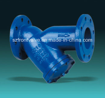 Cast Steel/Cast Iron Flanged End Y-Strainers