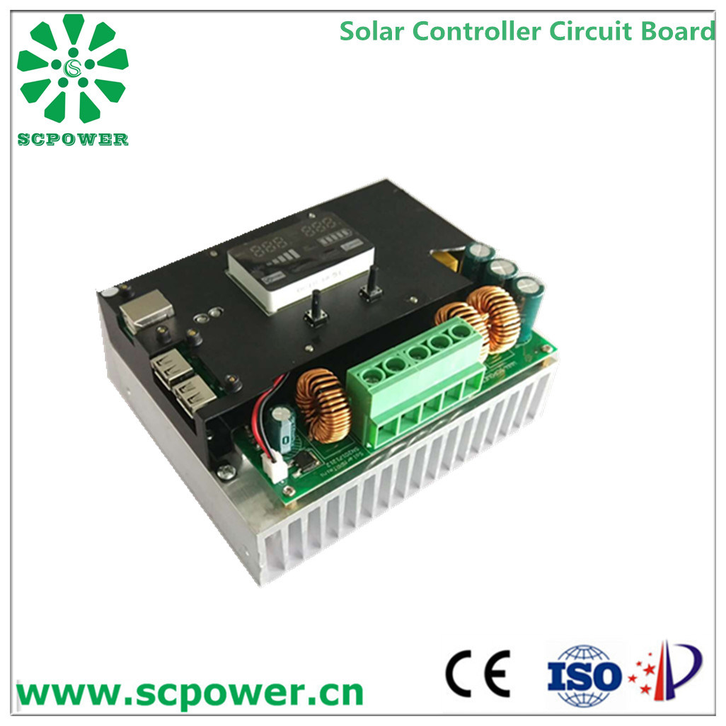 China High Efficiency Solar Charge Controller 20a Regulator Charger Circuit