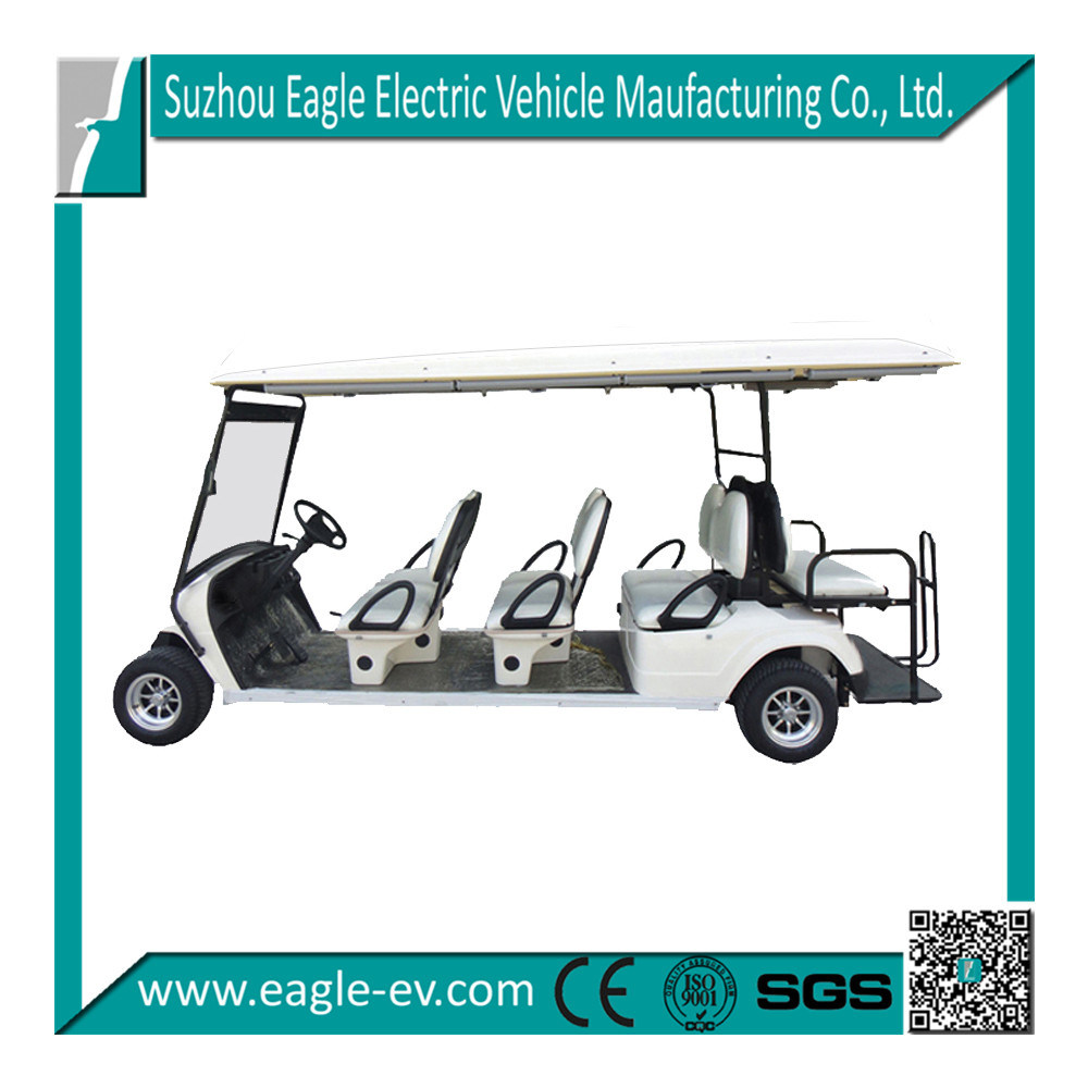 China Golf Cars 8 Seat Pure Electric 48v 3kw Germany Motor People Movers