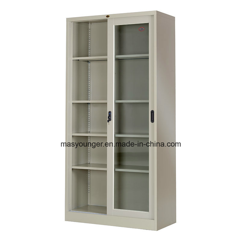 China Hot Sell Durable Sliding Glass Door Steel Office File