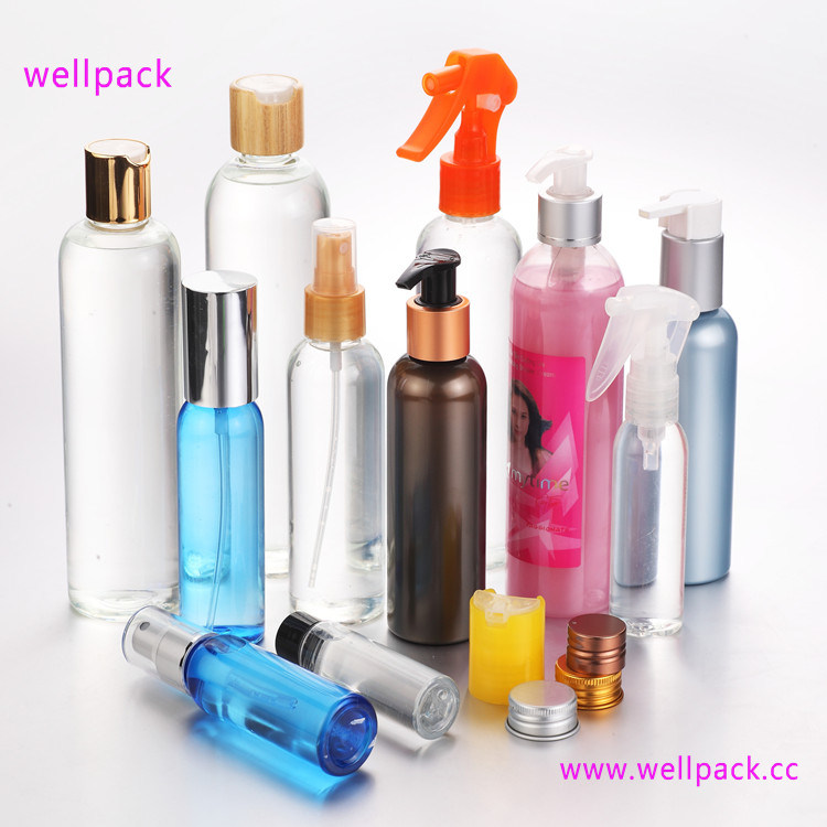 Cosmetic Pet Bottle with Sprayer
