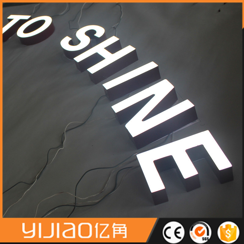 High Luminous LED Acrylic Letters with Long Lifespan