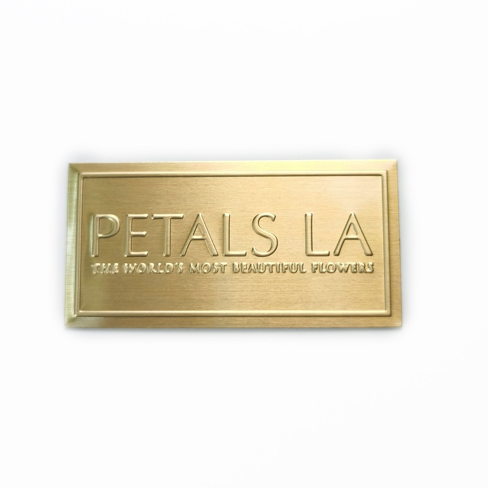 Garment Labels Engraved Metal Tags Logo