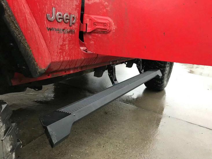 Hot Item Jeep Wrangler Jl Electric Side Step Power Board