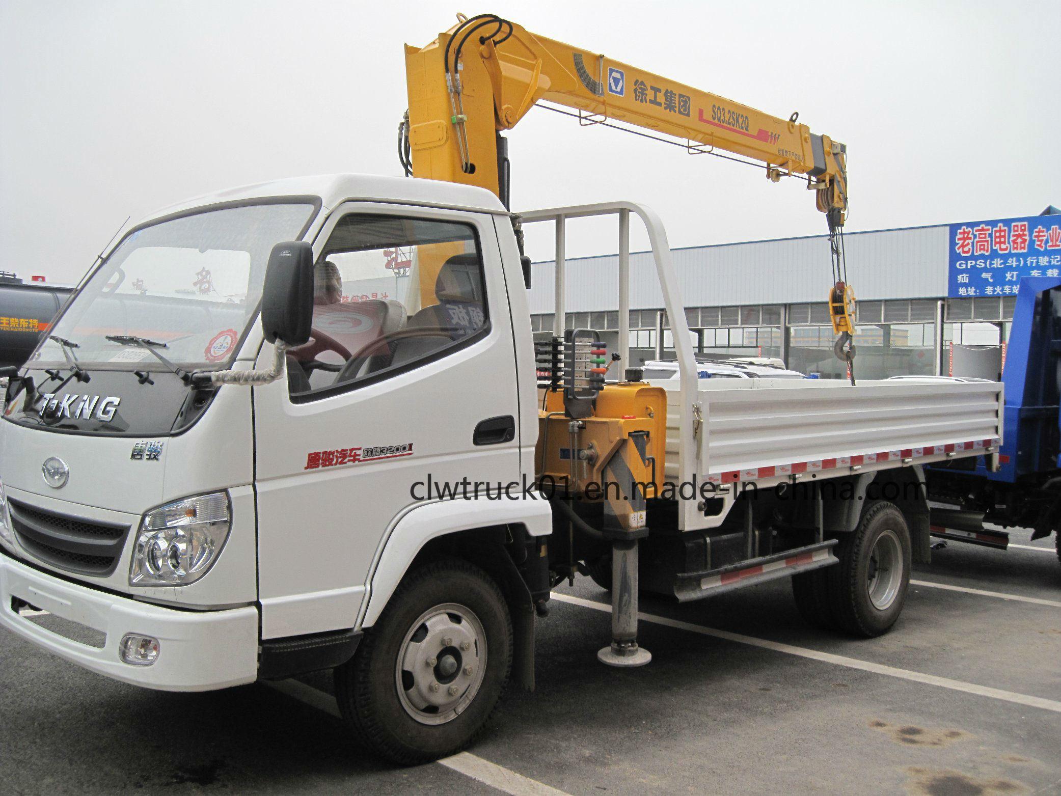 Crane Truck For Sale >> China Dong Feng Isuzu Foton Howo 5tons Mini Hydraulic Straight Arm