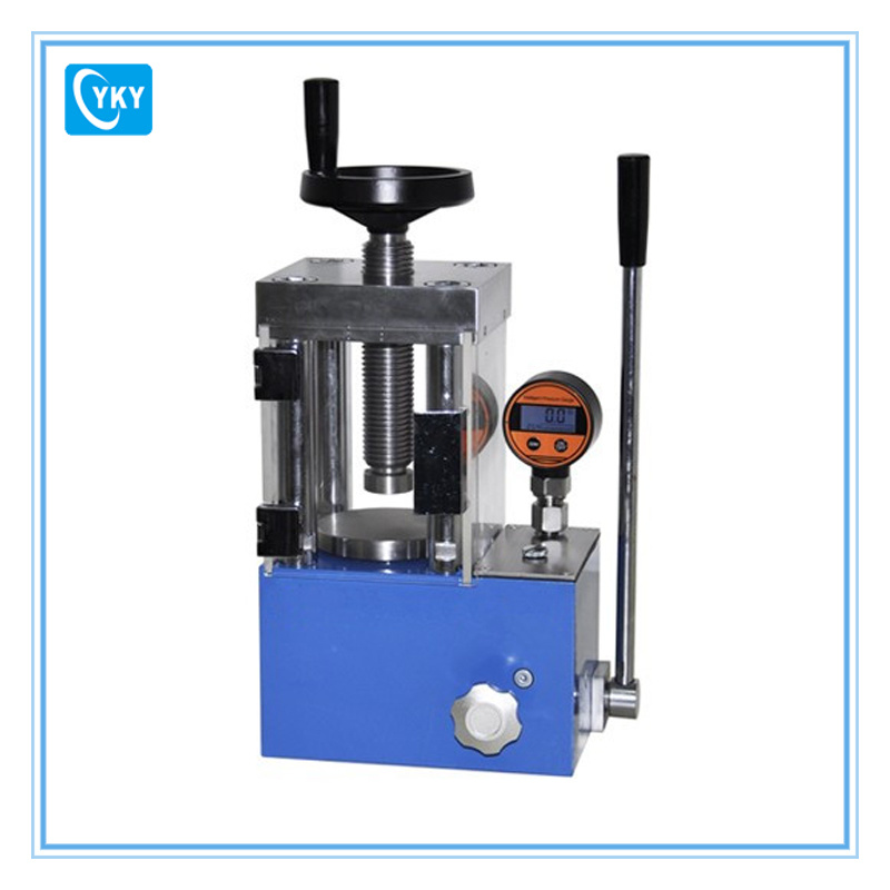 China Small Electric Laboratory Hydraulic Press with Built in