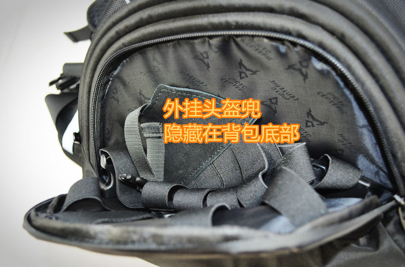 Waterproof Motorcycle Cycling Sports Travelling Backpack with Helmet Pocket pictures & photos
