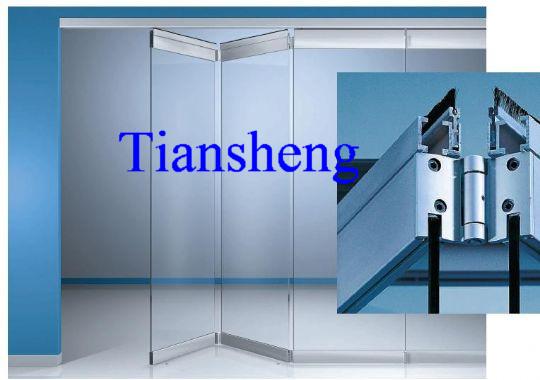 China Frameless Sliding Folding Glass Door China Door Glass Door