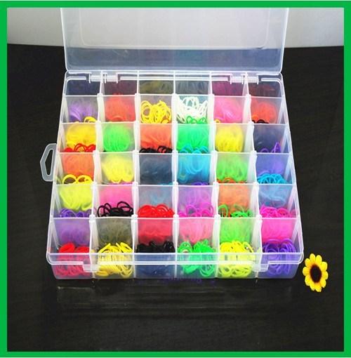 36 Grid Compartment Slot Plastic Storage Box Jewelry Tool Container & China 36 Grid Compartment Slot Plastic Storage Box Jewelry Tool ...