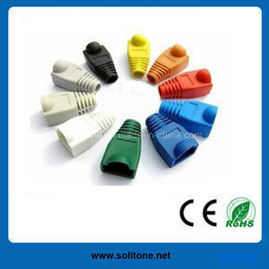 China RJ45 Connector Housing / Color-Coded Boot - China RJ45 Modular ...