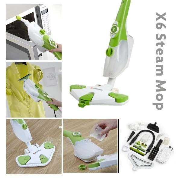 Steam Mop X6, 6 in 1 Steam Mop pictures & photos