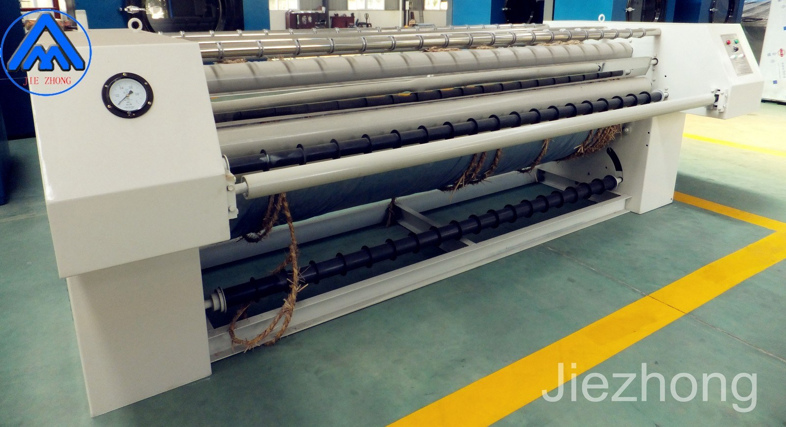 China Laundry Machine Automatic Ironing Pressing Hotel Bed Sheet Ironer For Cloth