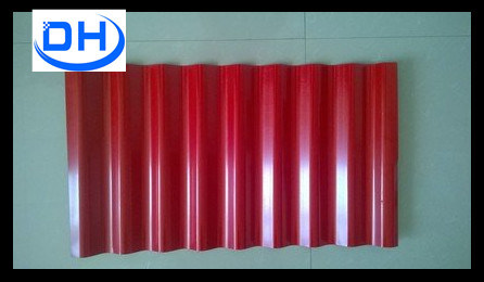 Pre-Painted Galvanized Corrugated Steel Plate