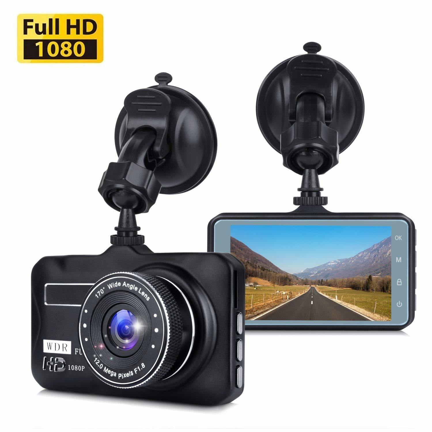 Wholesale 3.0inch Screen Dashcam Full HD 1080P Manual DVR Car Camera pictures & photos