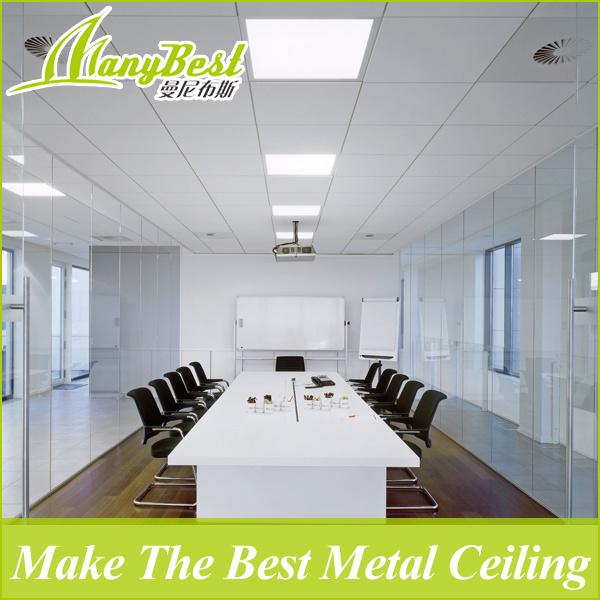 Hot Item Fireproof Aluminum Clip In False Ceiling Design For Office