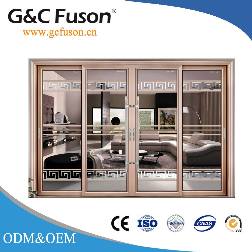 China Heavy Duty Aluminium Interior Glass Sliding Door China