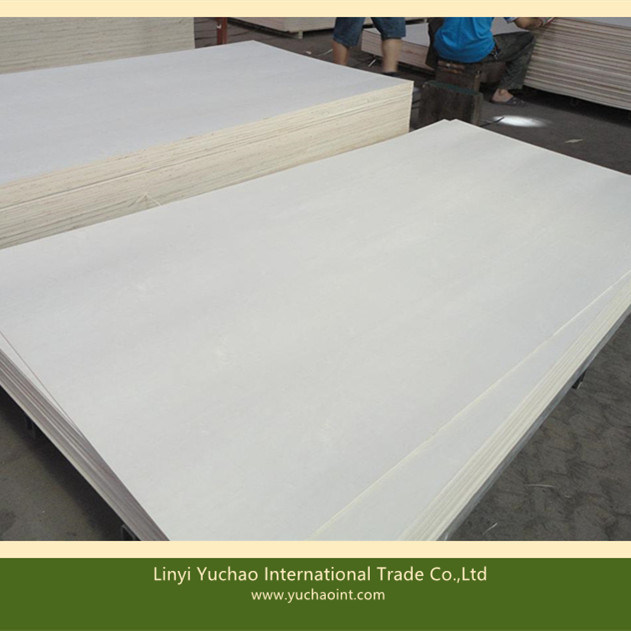 China Carb P2 Bleached White Poplar Plywood For Wood Furniture   China  Faced Plywood, Poplar Plywood