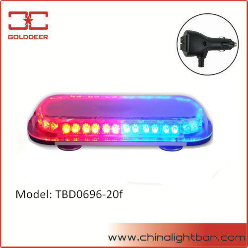 Emergency Vehicle Warning Lights Red And Blue LED Strobe Mini Lightbar