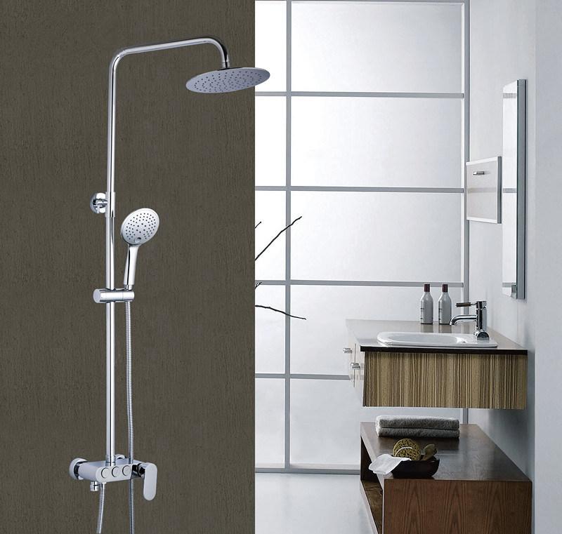 China Antique Fashionable Luxury Modern Bathroom Brass Golden Shower ...
