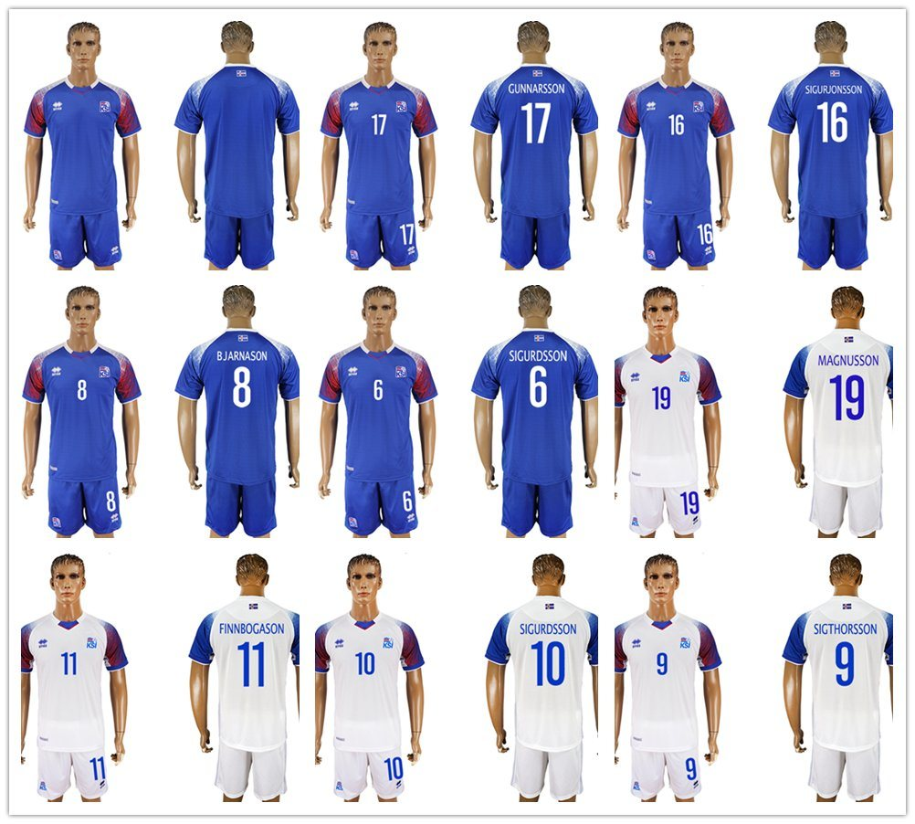 reputable site 3ba8a d5be6 China 18 19 Iceland Soccer Jerseys 2018 World Cup Iceland ...