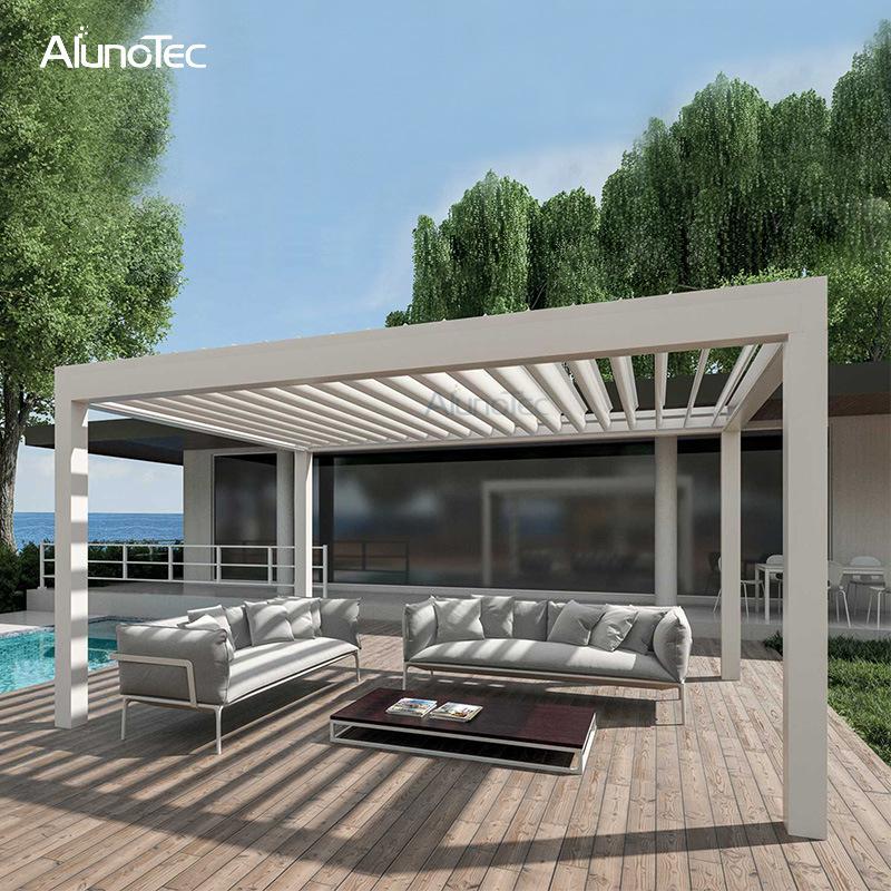China Outdoor Pergola Garden Aluminum Pergolas For Swimming Pool