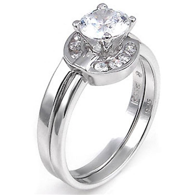 China Fashion 925 Sterling Silver Vintage Engagement Finger Set Ring -  China Finger Ring, Vintage Ring