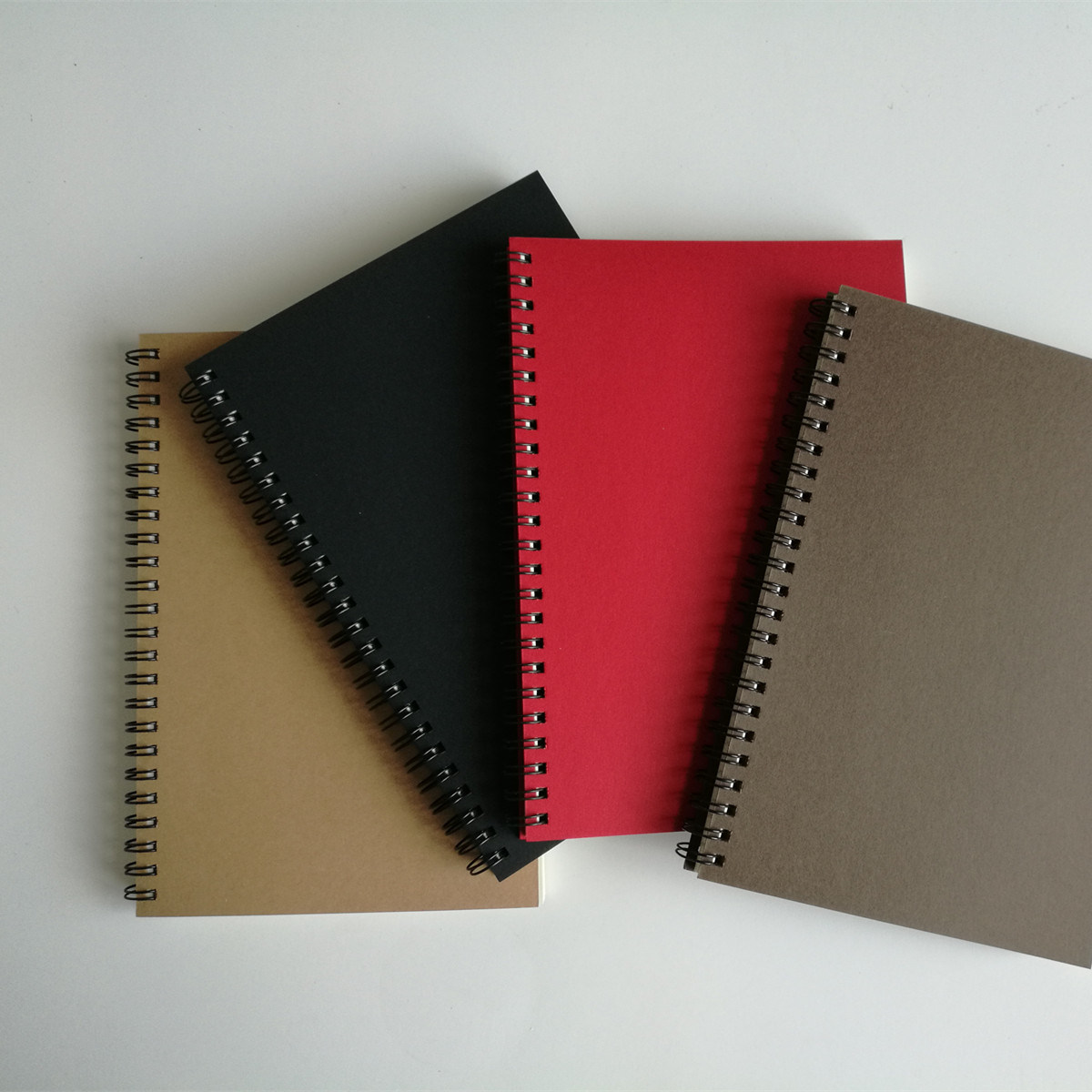 A5 Kraft Paper Spiral Notebook