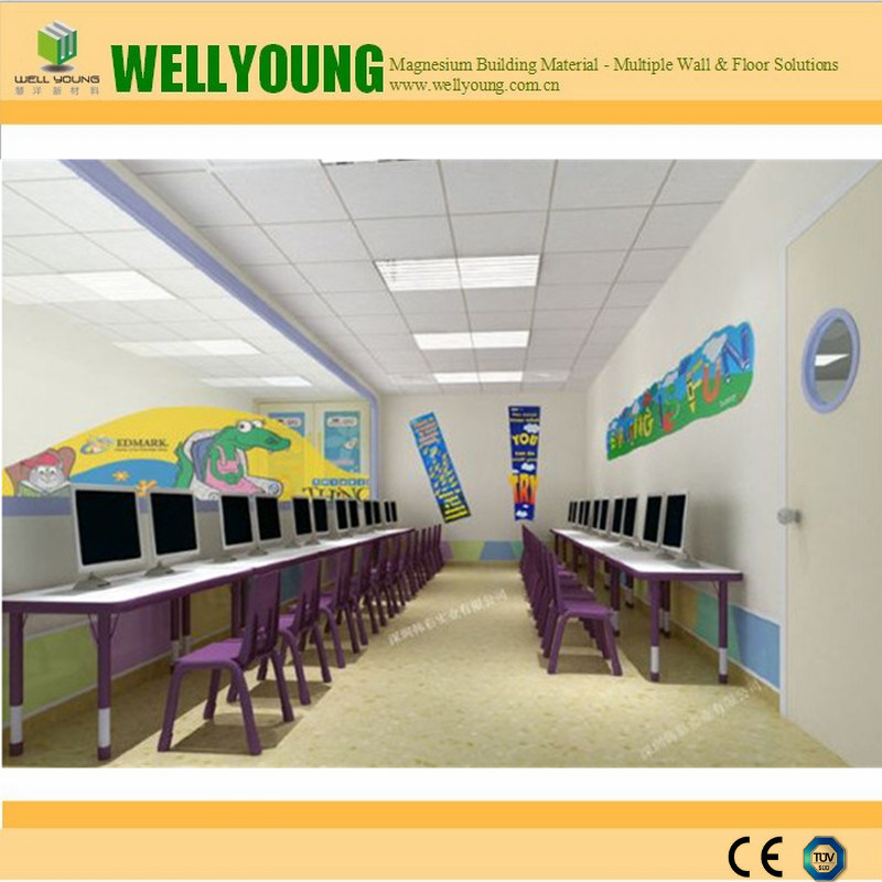 China Cheap Price Pvc Clean Ceiling Tiles For Decoration Photos