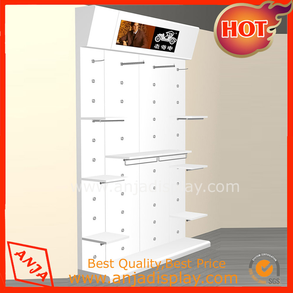 Wooden Cosmetic Display Shelf Display Stand Display Rack pictures & photos