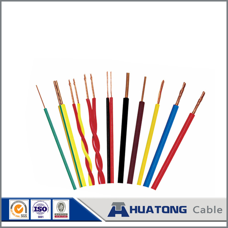 China Standed Copper Conductor PVC Insulated Wire Copper Electrical ...