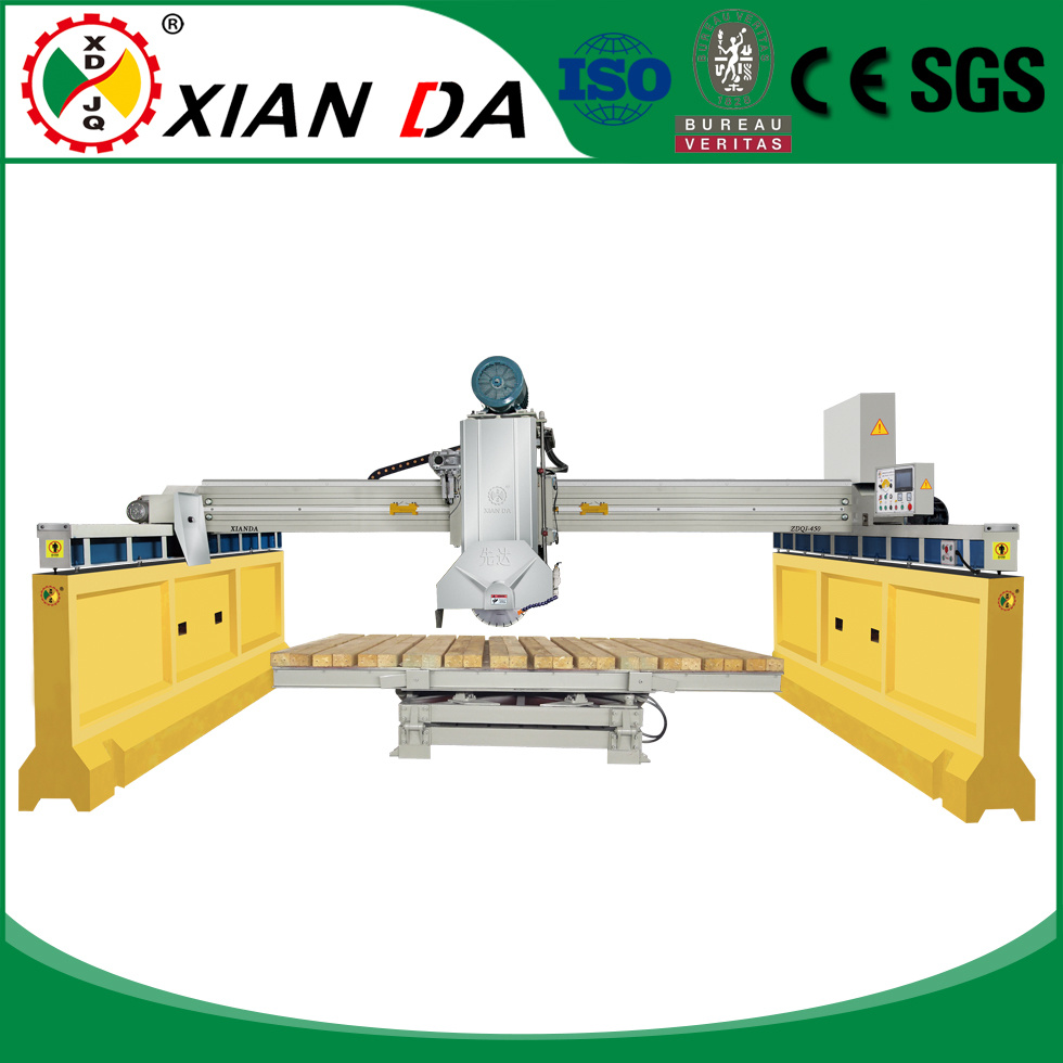 Zdqj-450 Infrared Automatic Stone Slab Bridge Saw Cutting Machinery pictures & photos